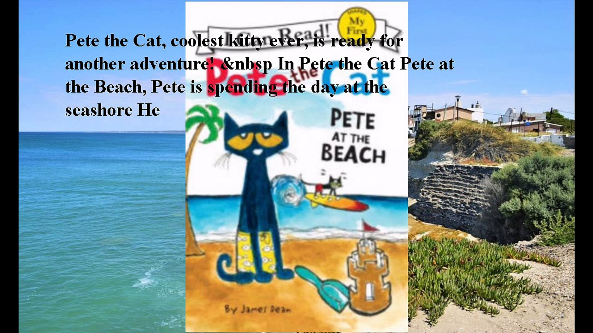 Download Pete at the Beach (Pete the Cat Series) ebook PDF