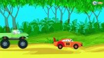 Dessins animés en français pour enfants - Ambulance, Voiture de course - La voiture pour enfants
