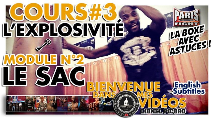 COURS DE BOXE N°3 : L'EXPLOSIVITÉ par LIONEL PICORD - (English Subtitles) BDMV !!!!