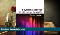 Read  Bayesian Statistics for the Social Sciences (Methodology in the Social Sciences)  Ebook READ