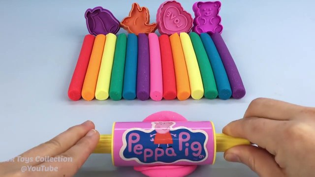 Glitter Play Doh Modelling Clay with Teddy Bird Heart Cookie Cutters