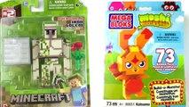 Opening The IRON GOLEM Action Figure and a Moshi Monsters Mega Bloks!