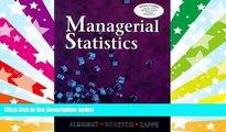 Read  Managerial Statistics  Ebook READ Ebook