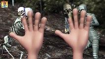 Finger Family Rhymes for Children Crazy Skeleton Vs Mummy | Finger Family Nursery Rhymes | Halloween
