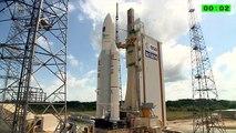 Ariane 5 rocket launches four Galileo satellites