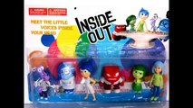 Inside Out Character Figures Fear, Sadness,Joy, Disgust, Anger Toy Review - Kiddie Toys