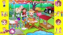 Baby Hazel Game To Play - Baby Hazel Farm Animals - Dora The Explorer
