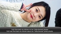 Sulli disturbs netizens once again with new SNS photos