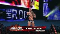 WWE 2K16 - X360 PS3 Gameplay (XBOX 360) Seth Rollins Roman Reigns vs The Rock John Cena Tag Team