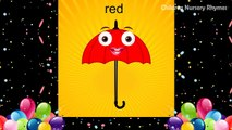 Colors Nursery Rhymes for children | Learn With Umbrella