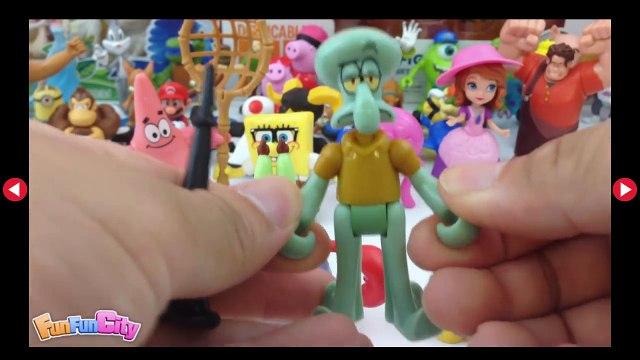 SpongeBob SquarePants: Mr. Krabs & Squidward, Tom and Jerry, Monster University, Surprise Eggs