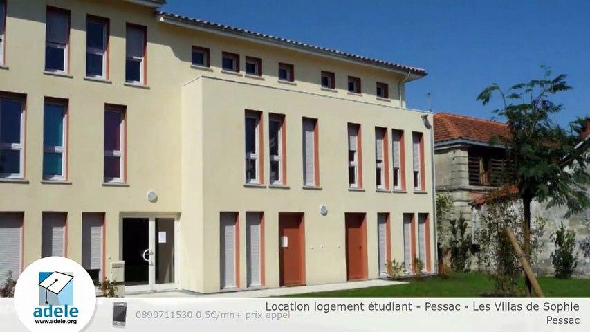 Location logement étudiant - Pessac - Les Villas de Sophie