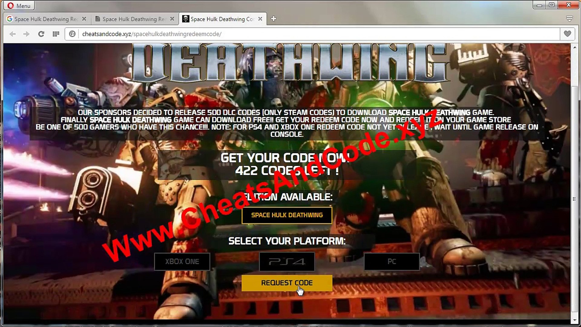 Space Hulk Deathwing Free Download PS4, Xbox One & PC