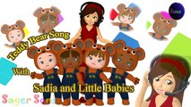 Teddy Bear Teddy Bear turn around Song - 3D Animation Teddy Bear Nursery Rhyme for Children