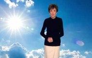 Catherine Laborde fait ses adieux aux téléspectateurs à la fin de son bulletin météo !