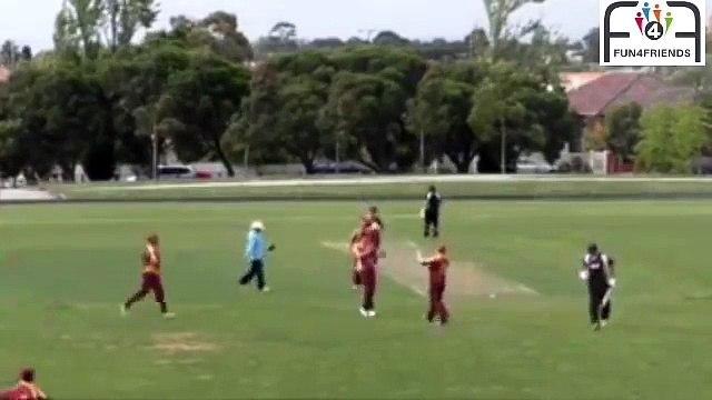 Amazing cricket match, 9 players out for zero, one score 169 runs