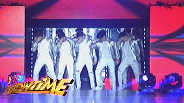 "It's Showtime: Hashtags performs ""With My Eyes Closed"""