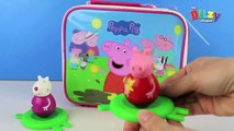 PEPPA PIG THROWS A WOBBLER!!! | Weebles Unboxing | By Ditzy Mum