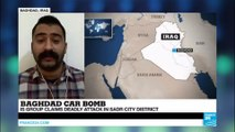 Iraq: Islamic state group claims responsibility for car bomb attack in Sadr City district