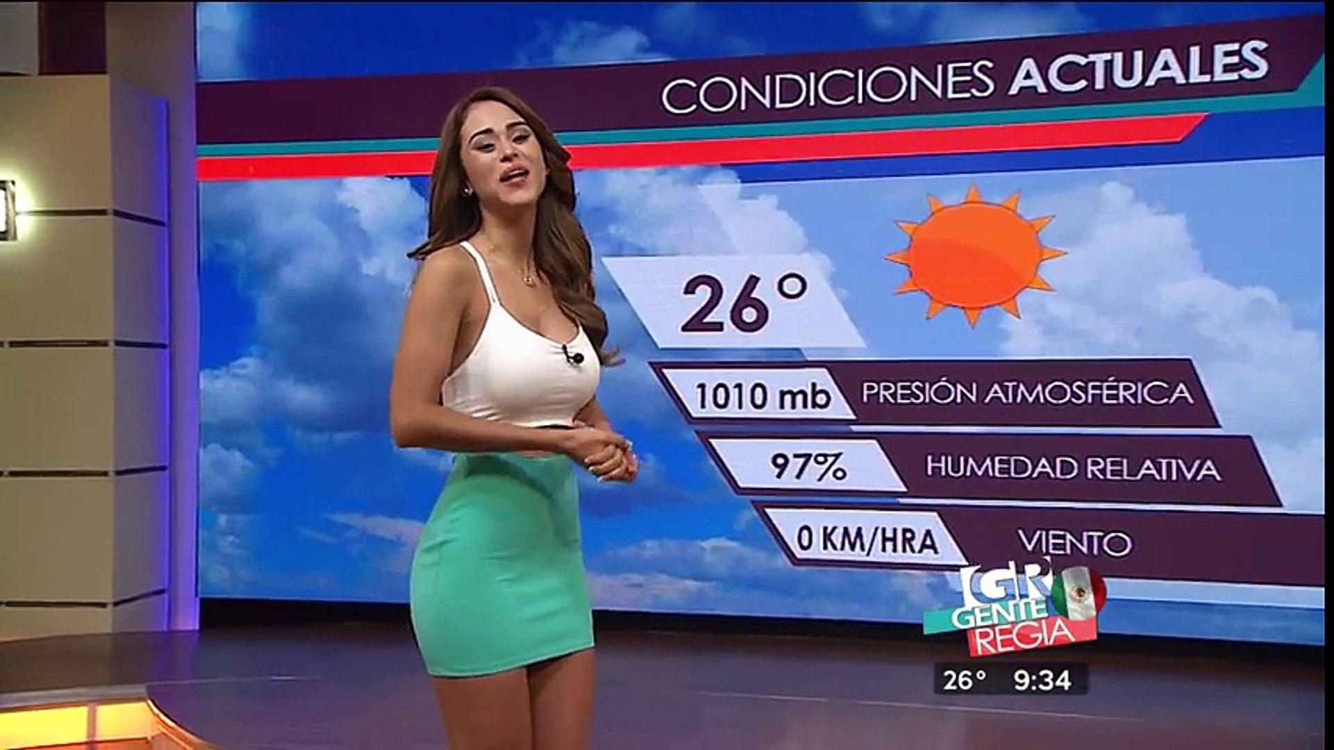 Yanet Garcia, miss météo Mexique