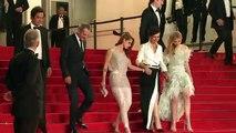 Juliette Binoche in Cannes with 'Clouds of Sils Maria' cast