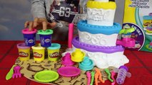 Tort Urodzinowy - Cukiernik - Zabawki Play-Doh - Dekorowanie Tortu - Ciastolina