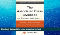 PDF  The Associated Press Stylebook and Briefing on Media Law 2011 (Associated Press Stylebook