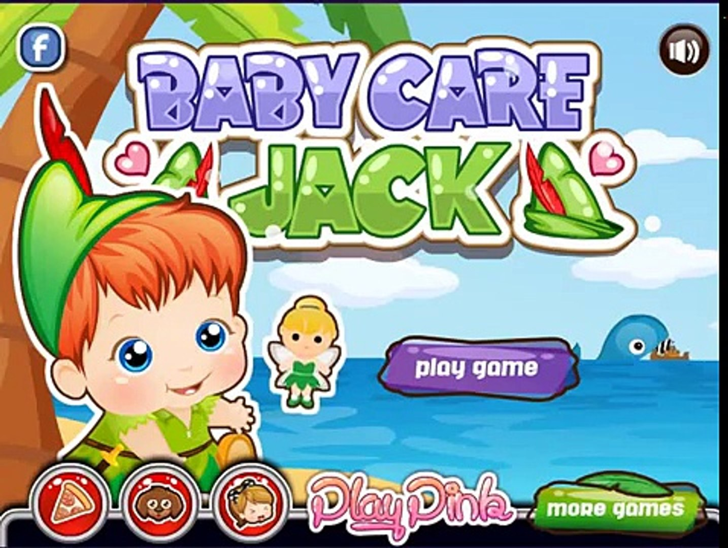 Baby Care Jack Movie Game For Kids - Cute Baby Care For Kids