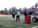 Entrainement cérémonie coupe du monde rugby 2007