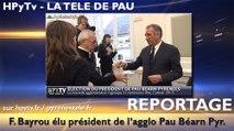 HPyTv Pau   François Bayrou élu président de Pau Béarn Pyrénées (2 janvier 2017)