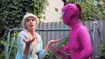 Frozen Elsa & Spiderman vs Maleficent! Doctor Elsa treats Superheroes. Superheroes in Real Life