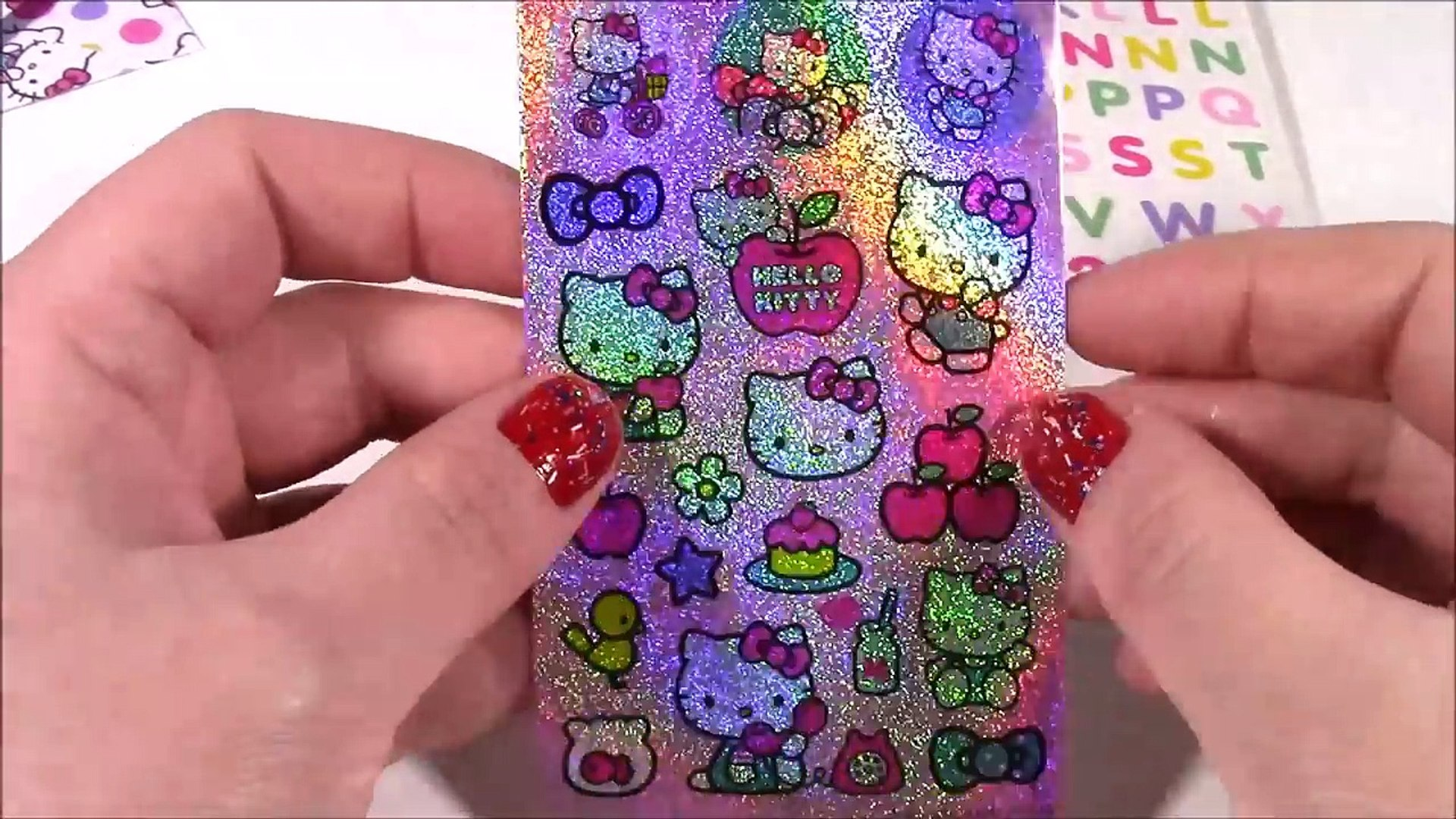 55776341b Hello Kitty All-in-One Scrapbooking Kit! Design Your Own Book with Stickers  & More! Lip Balm SET! – Видео Dailymotion