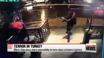 Islamic State group claims responsibility for terror attack at Istanbul nightclub