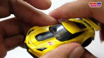 TOMICA Toys Cars: Honda CR-V, HOT WHEELS Toy Car: Corvette C7.R   Collection Toys Videos For Kids