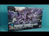 Unboxing: 1/144 HGBF Transient Gundam Glacier