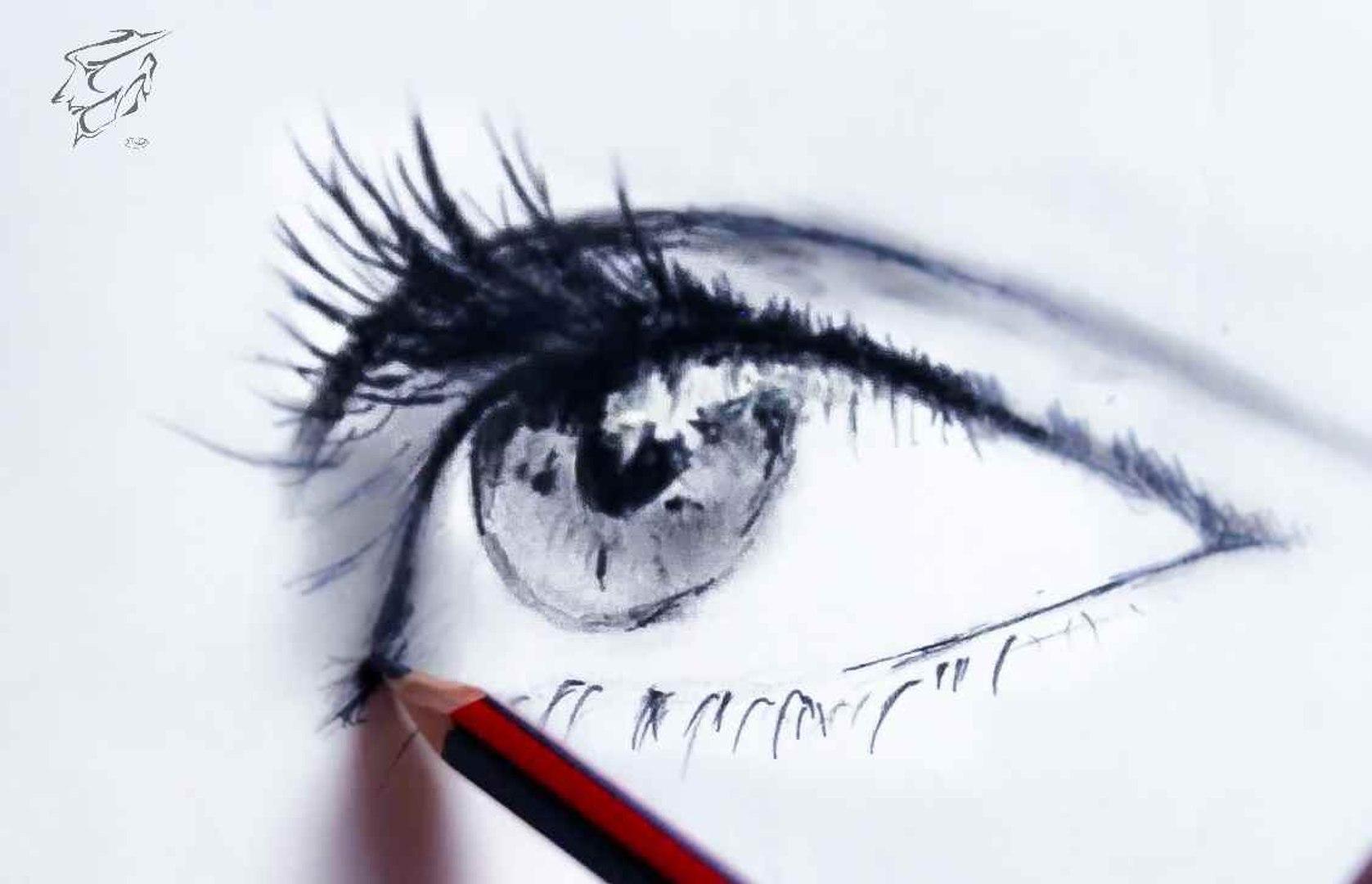 كيف ترسم عين كيف ترسم مستقبلك