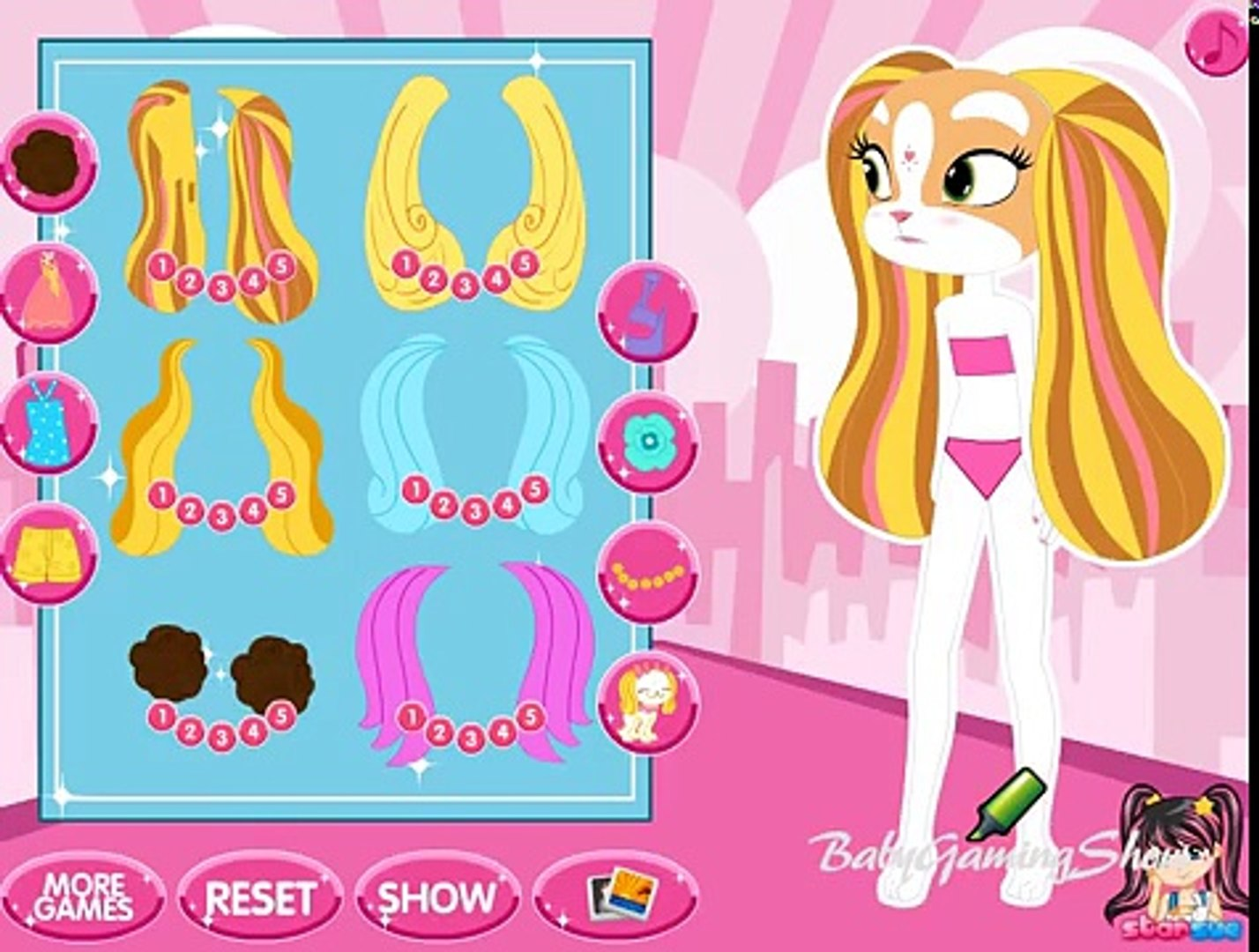 Baby Games For Kids - Pinkie Cooper and the Jet Set Pets Dress Up