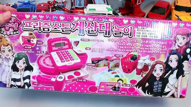 프리즘스톤 마트 계산대 놀이 뽀로로 타요 폴리 장난감 Market Cash Register toy Toys