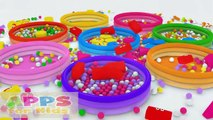 Kids 3D Colors with 1000 Ball Pit Show - Kids Learn Shapes for Toddlers and Kindergarten