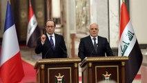 اولاند: با داعش در عراق و سوریه بجنگیم تا در فرانسه حملۀ تروریستی نشود