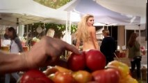 Banned Uncensored Carl's Jr  Charlotte McKinney All Natural Too Hot For TV  Comm_HIGH