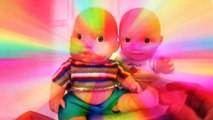 Twin Baby Dolls Sing A Song Jhonny Jhonny Yes Papa BABY DOLL