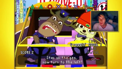 TRY HARD LEVEL 2000 - Let s Play  Parappa The Rapper - Part 2