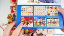 Best ABCs Learning Video with Paw Patrol Toys Puzzles and Learn Colors Compilation