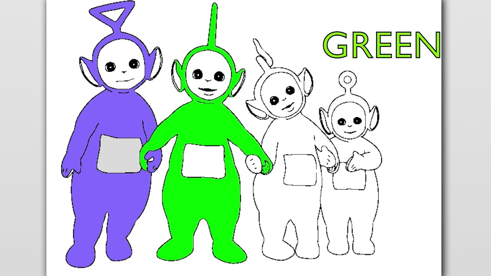 Teletubbies to download - Teletubbies Kids Coloring Pages | 1080x1920