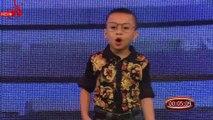 Thánh hài nhí 5 tuổi một mình độc thoại khiến sao Việt bấn loạn!