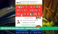 Audiobook  Don t Know Much About History, Anniversary Edition: Everything You Need to Know About
