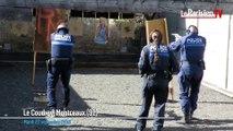 Evry : les policiers municipaux s'entraînent au tir