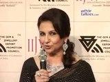 Sharmila Tagore walks the ramp at the India International Jewellery Week (IIJW)
