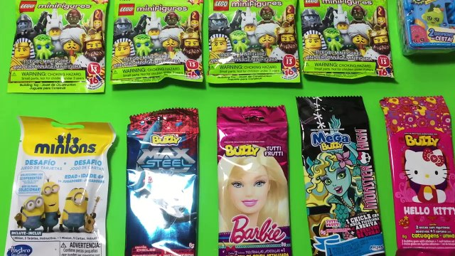 NEW 10 Mystery Blind Bags Barbie Lego Minifigures, Minions, Shopkins and More!